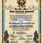 Peace Award from The Royal Society Group.