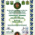 Honorary Member Award From Her Royal Highness Princess Putri Maamor